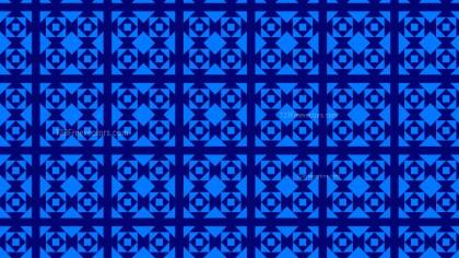 Royal Blue Seamless Geometric Square Background Pattern Vector Illustration