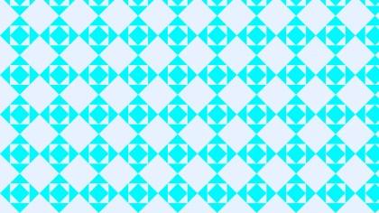 Cyan Square Pattern Background Illustration