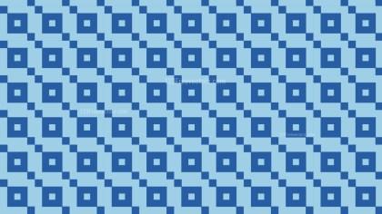 Blue Geometric Square Pattern