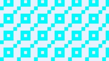 Cyan Seamless Square Pattern