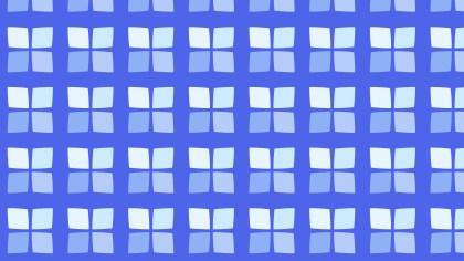 Blue Seamless Geometric Square Pattern