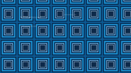 Dark Blue Seamless Concentric Squares Background Pattern