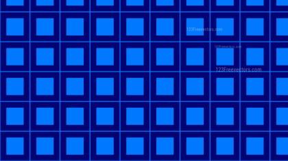 Royal Blue Geometric Square Background Pattern