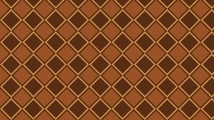 Brown Seamless Geometric Square Background Pattern