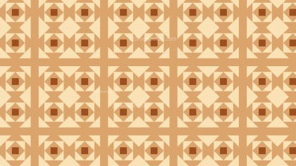 Brown Geometric Square Pattern Background Illustrator