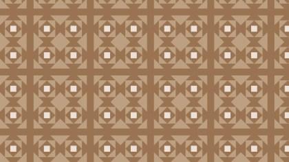 Brown Seamless Square Pattern