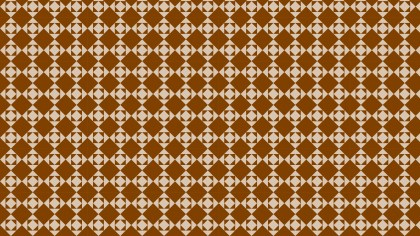 Brown Seamless Geometric Square Pattern Background