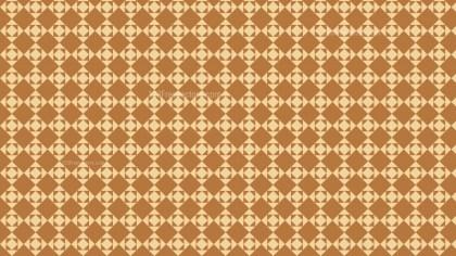 Brown Square Pattern Illustrator