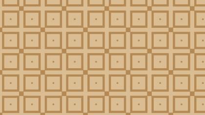 Brown Seamless Geometric Square Background Pattern Illustration