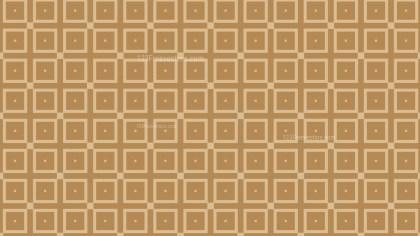 Brown Square Pattern