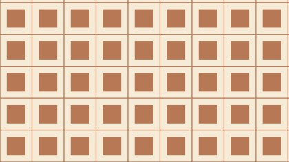 Brown Seamless Geometric Square Pattern