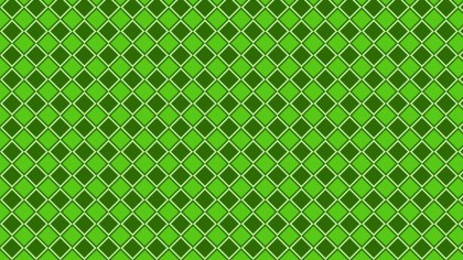 Green Geometric Square Pattern Background Vector