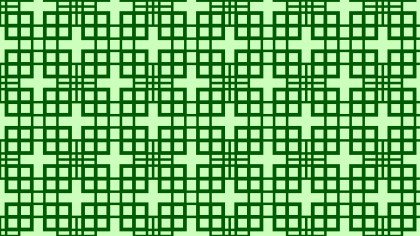 Green Square Pattern Background Vector Art