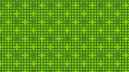 Green Geometric Square Pattern Illustration