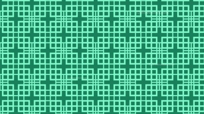 Mint Green Seamless Square Pattern Vector Graphic