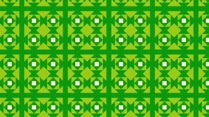 Green Square Pattern