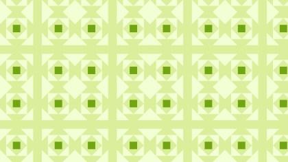 Light Green Geometric Square Pattern Background