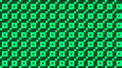 Green Square Pattern Background Vector Illustration