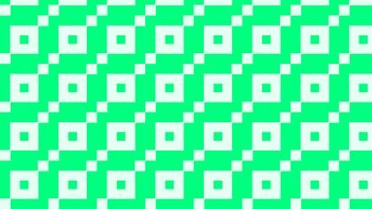 Spring Green Geometric Square Pattern Vector Art