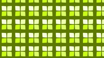 Green Geometric Square Pattern Background Graphic