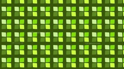Green Seamless Square Pattern Design