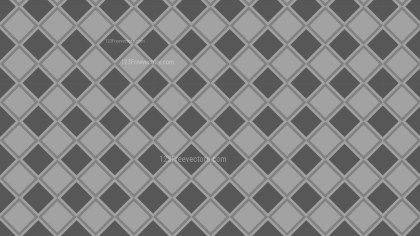 Grey Seamless Square Pattern Background Vector Illustration