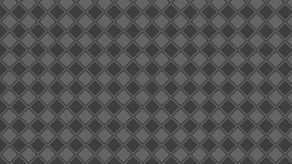 Dark Grey Seamless Geometric Square Pattern Vector Art