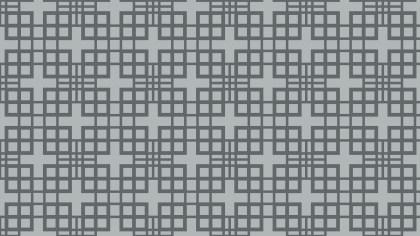 Grey Seamless Geometric Square Pattern Background