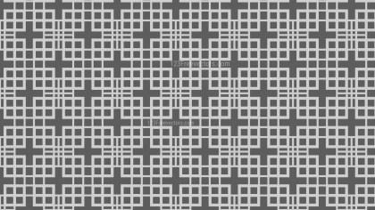 Dark Grey Geometric Square Pattern Vector Illustration