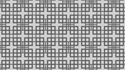 Grey Geometric Square Pattern Background Vector
