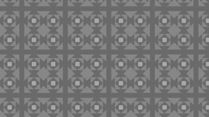 Dark Grey Seamless Square Background Pattern Design
