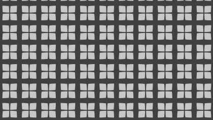 Dark Grey Seamless Square Background Pattern