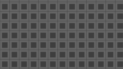 Dark Grey Geometric Square Background Pattern Vector Illustration