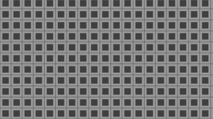 Dark Grey Seamless Square Background Pattern Graphic