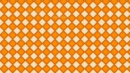 Orange Geometric Square Pattern Background