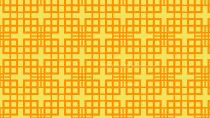 Amber Color Geometric Square Pattern Background