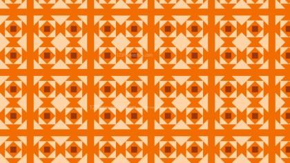 Orange Square Pattern Graphic