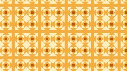 Light Orange Seamless Geometric Square Pattern Vector Art