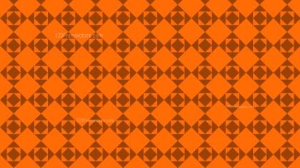Orange Square Pattern