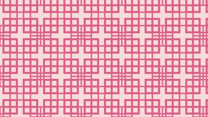 Pink Seamless Square Pattern