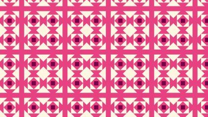 Pink Square Pattern Background Vector Illustration