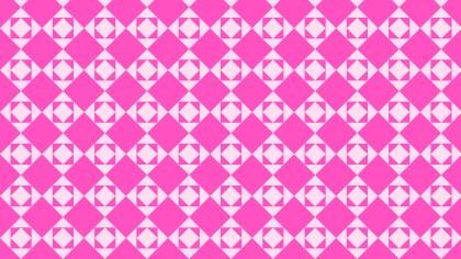 Rose Pink Seamless Square Pattern