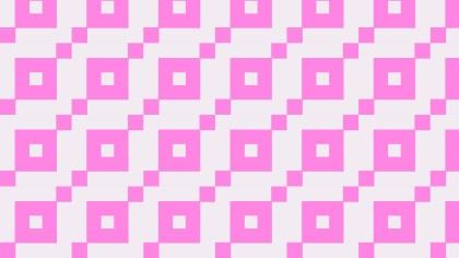 Rose Pink Square Background Pattern
