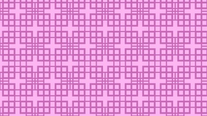 Lilac Seamless Geometric Square Background Pattern
