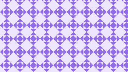Violet Seamless Geometric Square Background Pattern