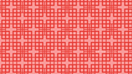 Red Square Pattern Background Vector Art