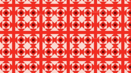 Red Geometric Square Background Pattern Image