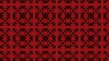 Dark Red Square Pattern