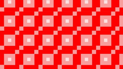 Red Geometric Square Pattern Vector Image