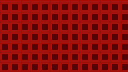 Dark Red Seamless Geometric Square Background Pattern Vector Illustration